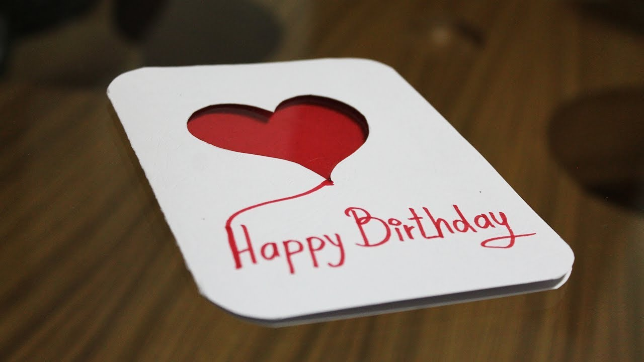 How To Make Greeting Card At Home