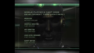 Splinter Cell Chaos Theory - Credits