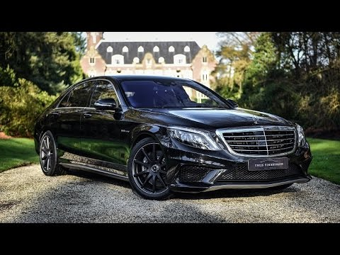 Mercedes Benz S63 AMG L 4MATIC Review | Hartvoorautos.nl | English Subtitled