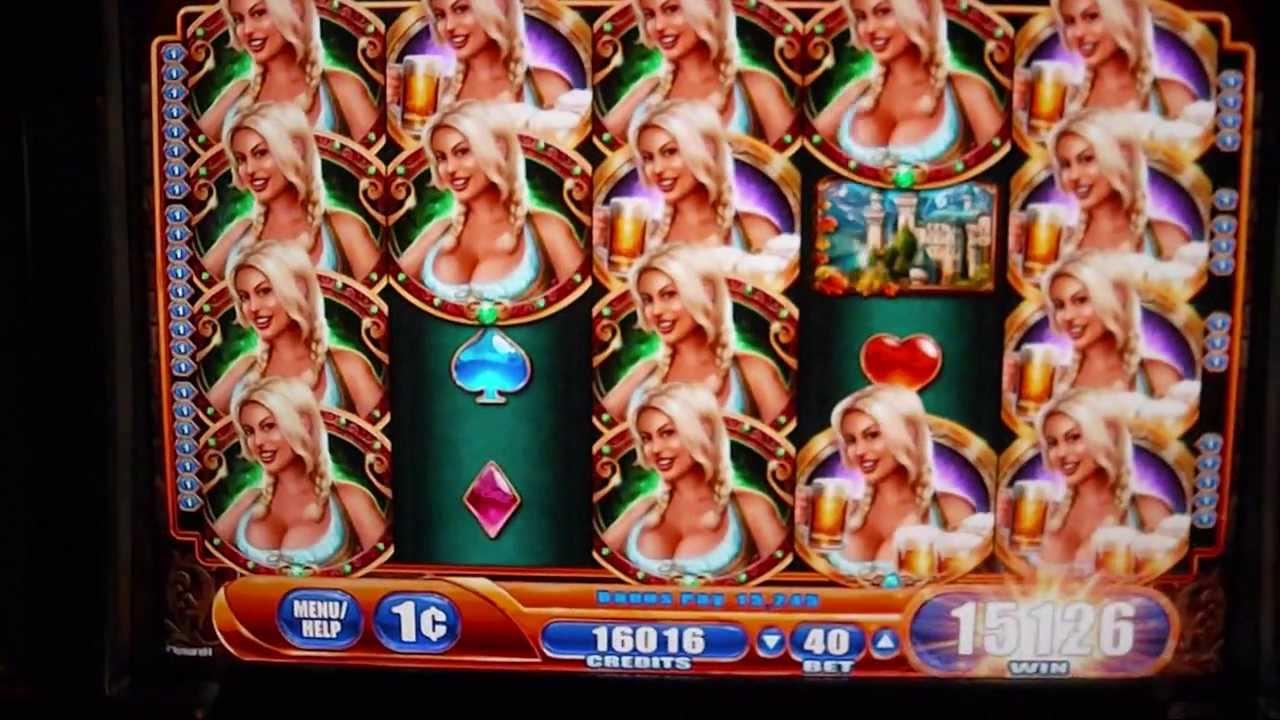 Bier Haus Big Win 65 Free Spins Bonus Round Slot Machine Youtube