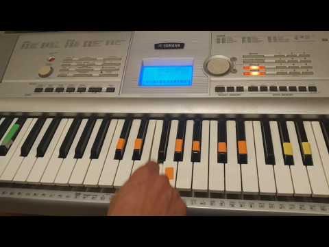 Suga Suga Baby Bash piano Tutorial