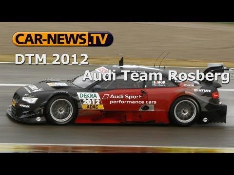 DTM 2012 - Team Rosberg (#21 Edoardo Mortara | #22 Filipe Albuquerque)