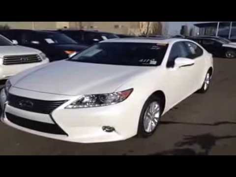 Benz Suv Models - 2014 White Lexus ES 350 Leather and Navigation Package