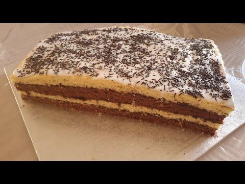 gâteau-napolitaine-facile-👌🍫🍫حلوة-نبوليطن-ساهلة-و-لذيذة-🥰🥰👌