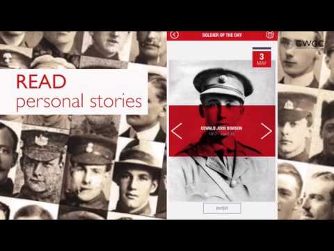 CWGC Thiepval App - DOWNLOAD TODAY