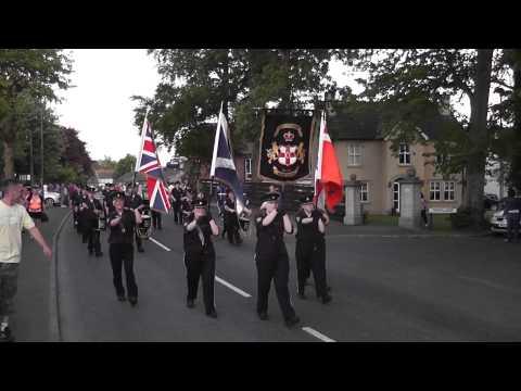 Newtownabbey True Blues FB @ Blackskull Orange & Blue FB Parade 2012