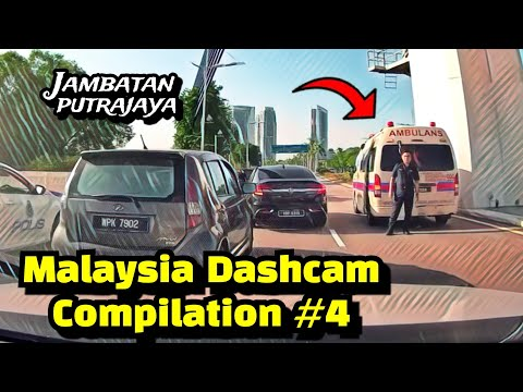 Malaysia Dashcam Compilation #4 | Safety Driving Education Video