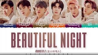 Baixar MONSTA X  - 'BEAUTIFUL NIGHT' Lyrics [Color Coded_Han_Rom_Eng]