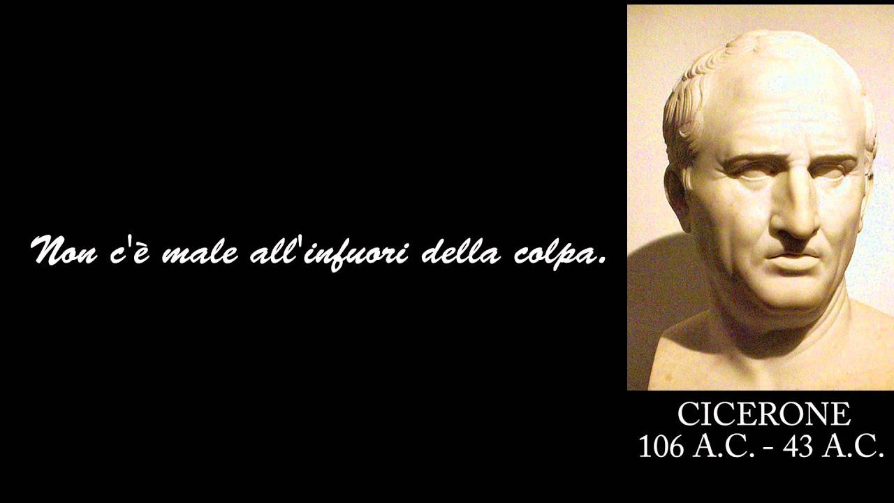 Frasi Celebri Di Cicerone