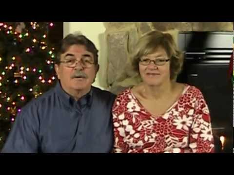 Barbara and Bill Van Hoy Share Christmas Greetings