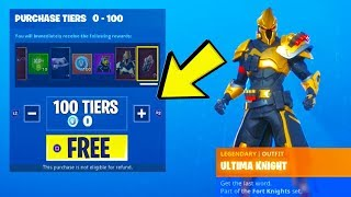 HOW TO INSTANTLY UNLOCK TIER 100 in FORTNITE SEASON 10! (TIER 100 FOR FREE) Season 10 Tiers Glitch