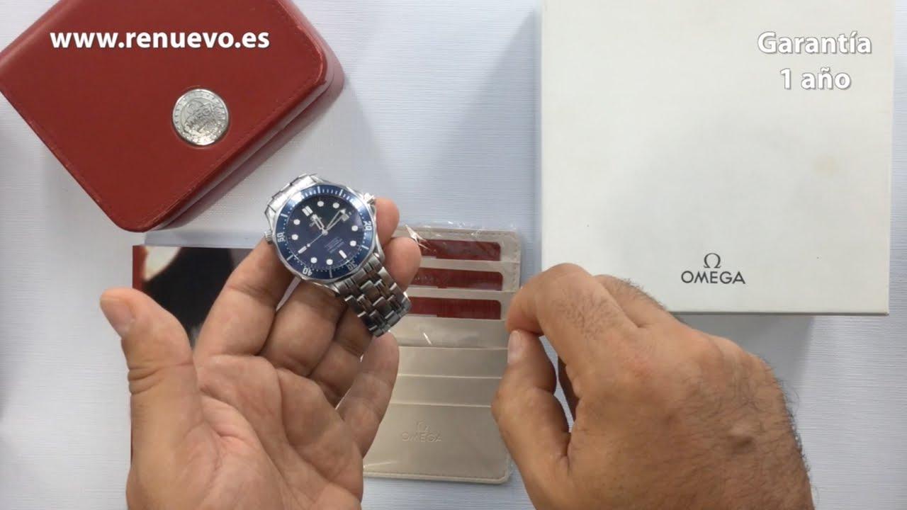 260d163b359 Consejos para comprar un reloj OMEGA SEAMASTER de segunda mano - YouTube