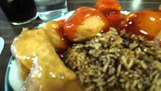 Chicken Balls Chicken Fried Rice Egg Roll Lunch $5 Delicious Star Rose Gardens Main St E Welland
