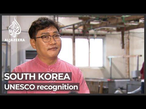 South Koreans seek UNESCO recognition of 'hanji'