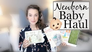 NEWBORN BABY HAUL // NEWBORN BABY ESSENTIALS // PREGNANCY UPDATE