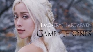 game of thrones daenerys targaryen look