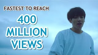 FASTEST K-POP GROUP MV TO REACH 400 MILLION VIEWS