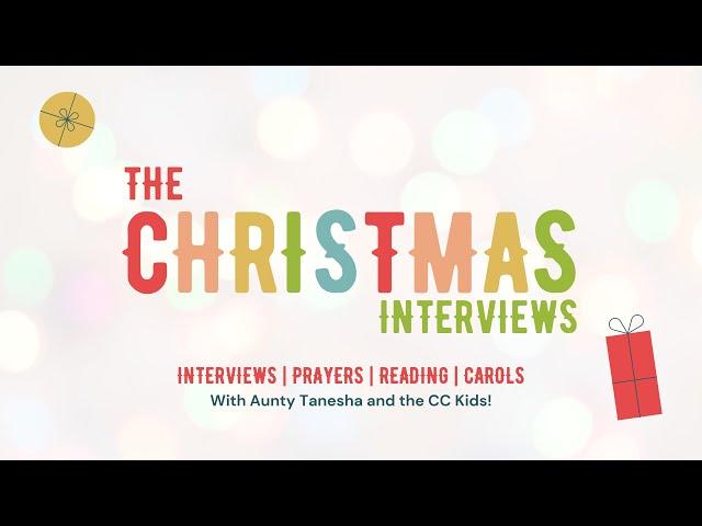 The Christmas Interviews | Celebration Kids