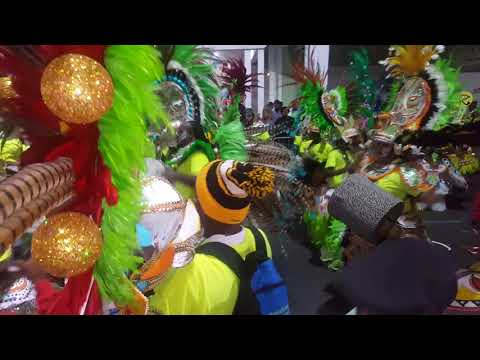 Valley Boys 2017 Boxing Day Junkanoo Fanfare & Rollover In The Gate