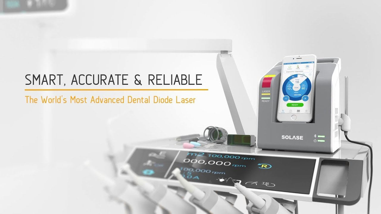 SMART, ACCURATE & RELIABLE - SOLASE dental laser
