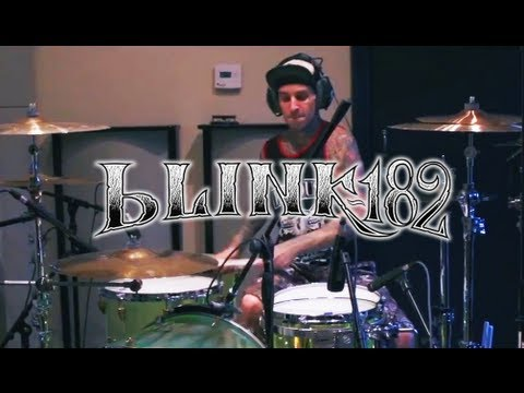 Travis Barker Recording Drums for Blink-182