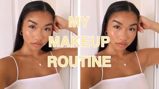 MY NATURAL GLOWY MAKEUP ROUTINE!! AFFORDABLE DRUGSTORE MAKEUP| get ur glow on | ANH PHAM