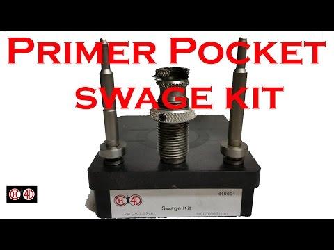 Ch4d Crimped Primer Pocket Swage Kit Review Youtube