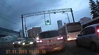 Дебилы на дороге 2015 Самара