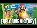 New FLY EXPLOSIVES 6 Kill VICTORY ROYALE!