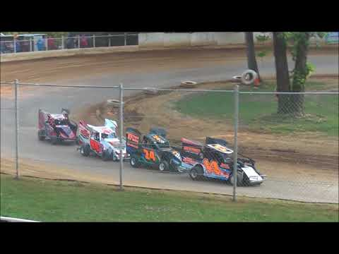 Junior Slingshot Heat Racing from Shellhammers Speedway 7/14/2018