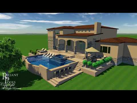High End Swimming Pool and Spa, Georgetown Texas
