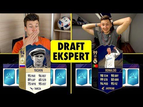 DRAFT EKSPERT [#8] | LACHU vs ZWYKŁY KIBIC | FIFA 18