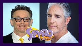 Talk With Tom Kenny and Carlos Alazraqui About Spyro