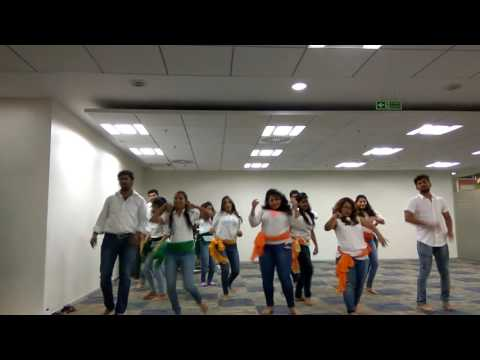 Mix dance performance at teradata - 70th independence day celebration 2016