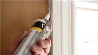 Home Help  : How to Caulk Around Doors and Windows