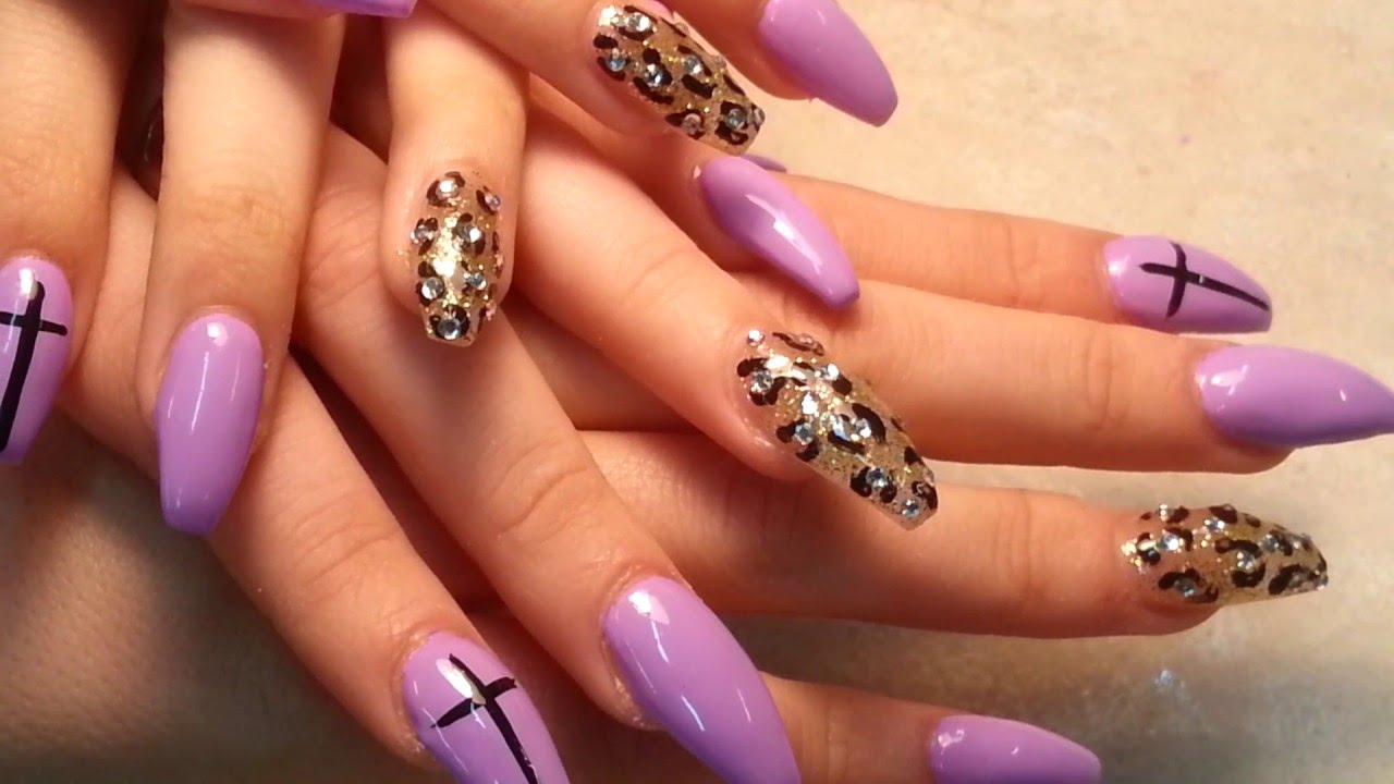 Meet Twin Sister Acrylic Coffin Nails Shape Youtube