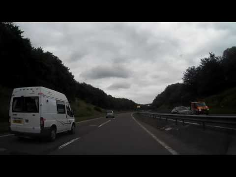 Drive From Kinross To Perth Perthshire Scotland