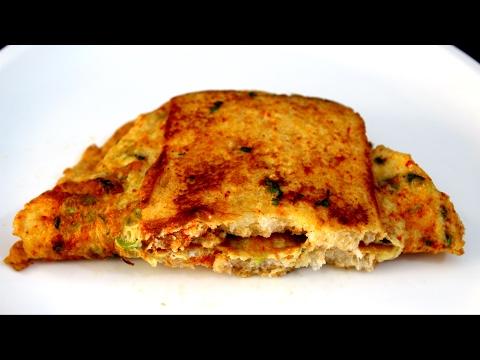 Bread Omlette Recipe