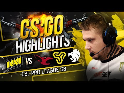 CSGO Highlights: NAVI vs mousesports, North, ex-Space Soldiers @ ESL Pro League S8