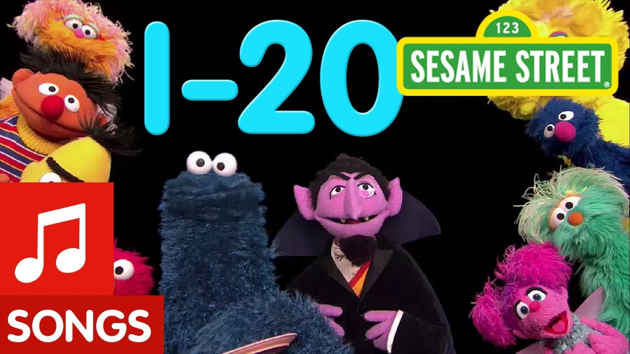Download Sesame Street: 1-20 Songs | Number of the Day Compilation