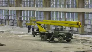 Строительство легкоатлетического манежа СК Абакан - Абакан 24