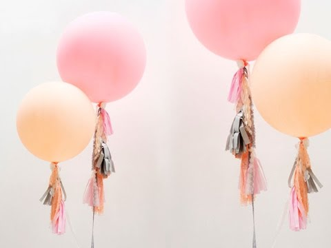 C mo decorar globos para fiestas youtube - Globos para fiesta ...