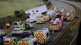 DID A BAD ROAD CAUSE FATAL M5 CRASH ?
