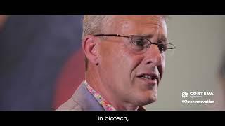 Dr Ernst van den Ende, Wageningen University, at Corteva Open Innovation Forum