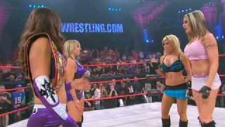 The TNA Wrestling Debut Of Lacey Von Erich