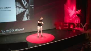 Ami nem épül, az pusztul | László Nemcsák | TEDxYouth@Budapest