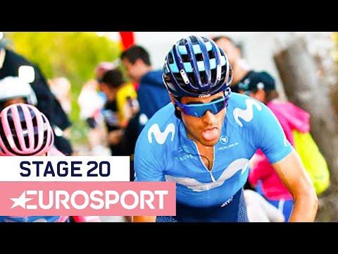 Giro D'Italia 2019 | Stage 20 Highlights | Cycling | Eurosport