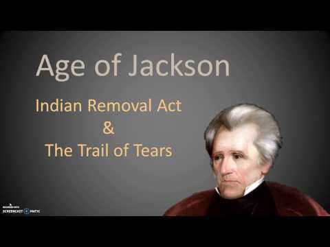 Indian Removal Act & Trail of Tears