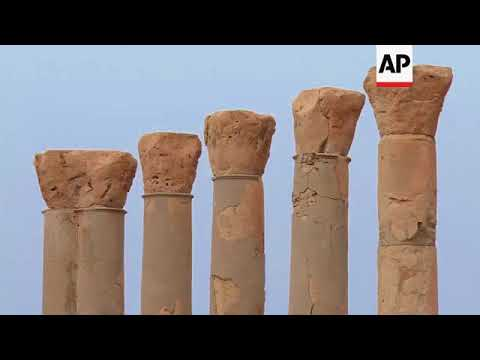 Ancient features still survive in coastal Libya