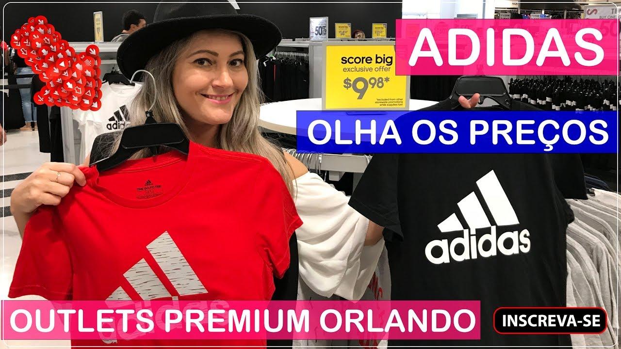 1071aa9ac ADIDAS Orlando Premium Outlets com PREÇOS no Viajar Muda Tudo! - YouTube